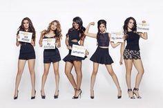 Fifth Harmony-Lauren Michelle Jauregui, Allyson (Ally) Brooke Hernandez, Normani Kordei Hamilton, Karla Camila Cabello, and Dinah Jane Hansen
