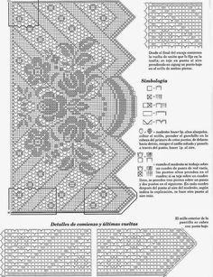 Kira scheme crochet: Scheme crochet no. 22