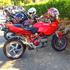 The forerunner to my bike - Ducati Multistrada 1000DS - Aircooled
