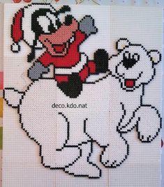 bead patterns christmas perler beads bebe xmas noel tricot polar - Christmas Perler Bead Patterns