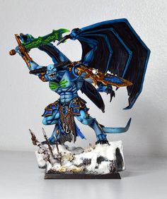 Daemon Prince of Tzeentch/Nurgle by SpaceWaffle, via Flickr