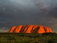 Australia: Ayers rock. One more treasure from Mother Nature !