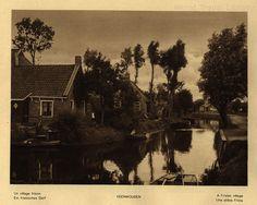 https://flic.kr/p/WvDr8w | Holland; 1933_36, Veenwouden village (in Dantumadiel municipality, Friesland), The Netherlands | Veenwouden  Un village frison /  Ein friesisches Dorf /  A Frisian village /  Una aldea Frisia