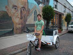 ECT Pedicab.  Columbus, OH