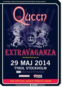 QUEEN EXTRAVAGANZA | 29 maj | Stockholm |