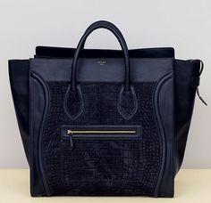 celine's luggage bag. beautiful.
