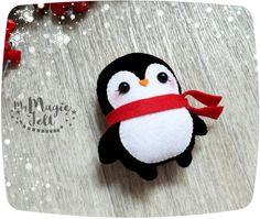 Adornos de Navidad adornos de Navidad lindos pingüino