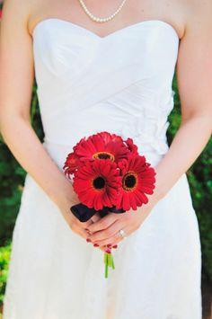 Gerbera pour mariée
