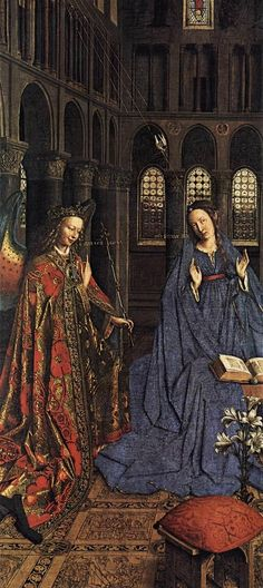 JAN VAN EYCK (1395-1441) - National Gallery of Art, Washington, DC, USA.