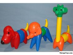 Tupperware toys... I loved these!