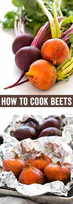 Learn how to cook beets with four easy methods like steam, boil, and two ways to roast them. Healthy dishes can be created using this incredible ingredient and I'm going to cover the basic techniques to maximize flavor. via @foodiegavin