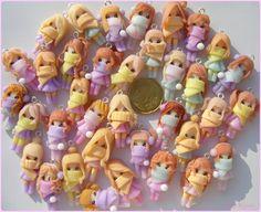 Wintern clay dolls by Bojo-Bijoux.deviantart.com on @deviantART