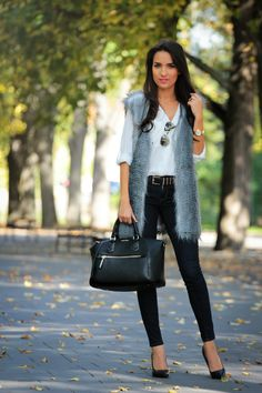 Style and Blog - Faux fur for fall