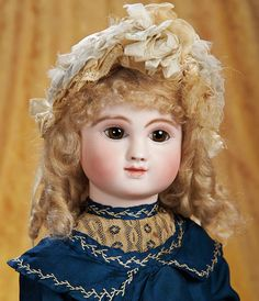 The Empress and the Child - Antique Dolls: 58 Lovely French Bisque Bebe,Figure C,by Jules Steiner