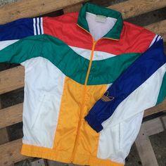 Sold Out/Vendu Veste Adidas  - Taille L - #adidas #vintageadidas #tonylafripe #vintage
