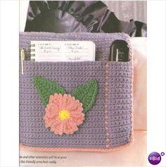 Crochet Caddy Pattern Armchair Caddy