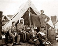 Soldiers by Tent