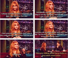 Even Jennifer Lawrence loves harry potter