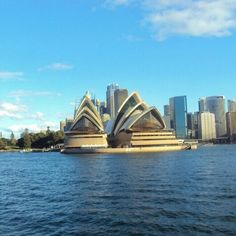 Sydney Opera House; the other side.