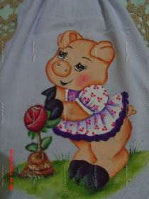 Artes Ana Vilela Pintura Country, 3d Cards, Tole Painting, Love Tattoos, Animal 2, Cute Art, Coloring Pages, Burlap, Cute Animals