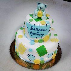 millefoglie per battesimo torta della pasticceria La Mimosa di http://www.simocakedesigner.it