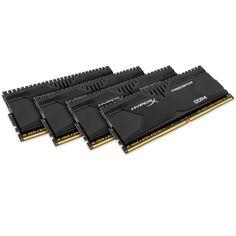 KaBuM! - Memória Kingston HyperX Predator 32GB (4x8GB) 3000Mhz DDR4 CL15 HX430C15PBK4/32 R$ 2.750
