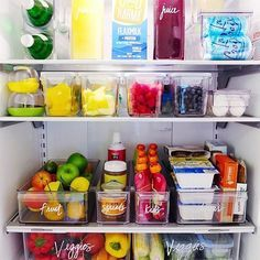Organizing Tip: when you bring home your groceries take a few minutes to clean out your fridge, toss any outdated foods and rotate/rearrange things.