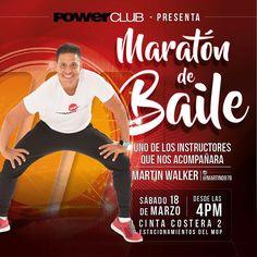 Faltan 6 días para la #MaratonDeBaile @powerclubpanama este #Sábado 18 de Marzo en la #Cintacostera con los mejores Instructores aquí algunos @martin0978 @asanojafit @diego2castro2 @abdielabdull @edgar_gonzalez26 y Alfonso #YoBailoEnPowerClub ( Recuerda inscribirse en las sucursales de POWERCLUB no se realizarán inscripciónes en la #Cintacostera )