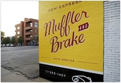 _ New Express Muffler & Brake : VISUAL ARMORY