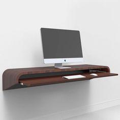 Minimal Float Desk Walnut | Fab.com