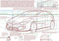 """ on this Free Trial Sketch; however he also mentioned that this sketch needs improvement (see the photo) . Let's get evaluation on your car sketch from professional car designer for FREE! Car Design Sketch, Car Sketch, Automotive Design, Auto Design, Teaching Drawing, Sketches Tutorial, Car Drawings, Transportation Design, Car Wheels"