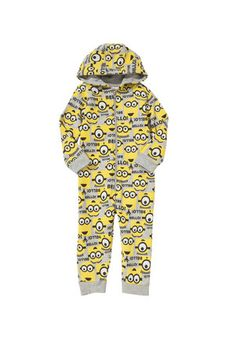 Universal Studios Despicable Me Minion Onesie at F&F Clothing