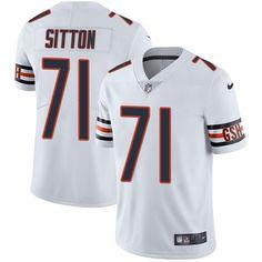 6d662cb14 Nike Bears  71 Josh Sitton White Men s Stitched NFL Vapor Untouchable  Limited Jersey And