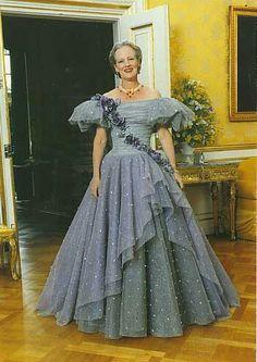Queen margarethe of Denmark