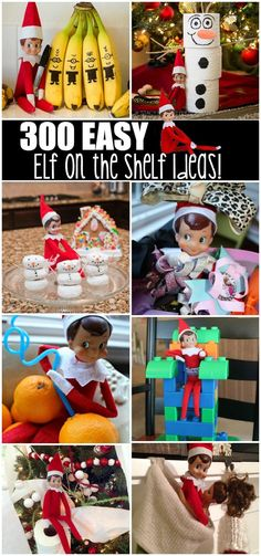 300 Easy Elf on the Shelf Ideas