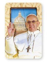 His Holiness Saint Pope Francis I Jorge Mario Bergoglio gifts and souvenirs page. We have a selection of Pope Francis Rosaries, prayer cards, medals and statues. Prayer Cards, John Paul, Pope Francis