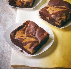 Erdnussbutter-Brownies - [ESSEN UND TRINKEN]