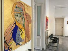 La berbera- Olio e acrilico su tela - 100x100 cm - 2009