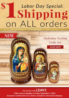 Labor Day Special: $1 Shipping on all orders. (Some exceptions-see ad) Use promo code LDAY1. Shop Now.