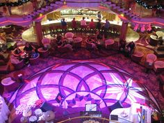 The new #Centrum on #RoyalCaribbean #Enchantment of the seas . Always improving! WOW !