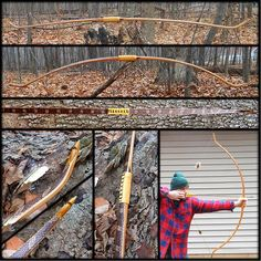 Primitive Archer Self Bow of the year by Chris Koenigsknecht (PEARL DRUMS) from Perrinton, MI,   with his Deflex static yew.