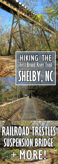 Hiking in Shelby, North Carolina: the First Broad River Trail.   My Meena Life