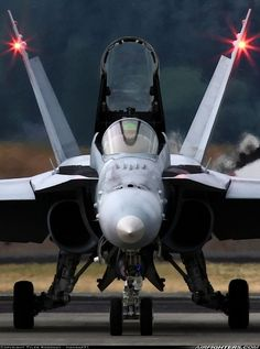 An Hornet from the Red Devils of Marine Fighter Attack Squadron Military Jets, Military Weapons, Military Aircraft, Fighter Aircraft, Fighter Jets, Air Fighter, Tomcat F14, Swiss Air, Navy Aircraft