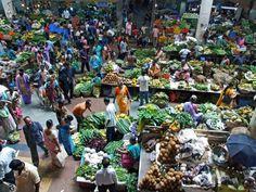 Market scene..