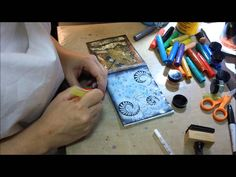 Mixed Media Process Series - 28 Page Mini Art Journal - Page #2 - Not M...