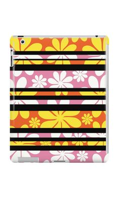 A floral #ipad case for girls who love colors #techology @redbubble