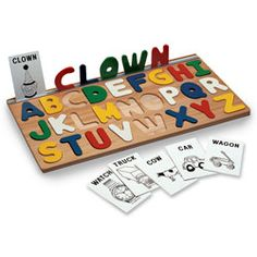 I Can Spell! Alphabet Puzzle ~ Puzzles