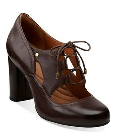 Take a look at this Brown Loyal Heart Oxford - Women by Clarks on #zulily today!