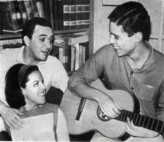 Miucha, Joao Gilberto and Chico Buarque de Holanda....i should've been alive and present when this photo was taken.