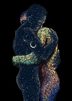 Uploaded by AVE_Victoria. Find images and videos about love, art and couple on We Heart It - the app to get lost in what you love. Kunst Inspo, Art Inspo, Psychedelic Art, Psychedelic Fashion, Fantasy Kunst, Fantasy Art, Art Amour, Wallpaper Fofos, Trippy Painting